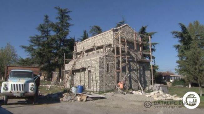 უსახსრობის გამო  ჩუმლაყში  ტაძრის მშენებლობა დროებით შეჩერდა